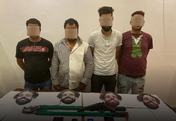 Cải trang thành Salah để đi cướp, bốn người bị tóm gọn - Ảnh 1.