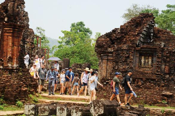 Khu di tích Mỹ Sơn giảm giá vé cho khách tham quan từ ngày 1-6 - Ảnh 1.