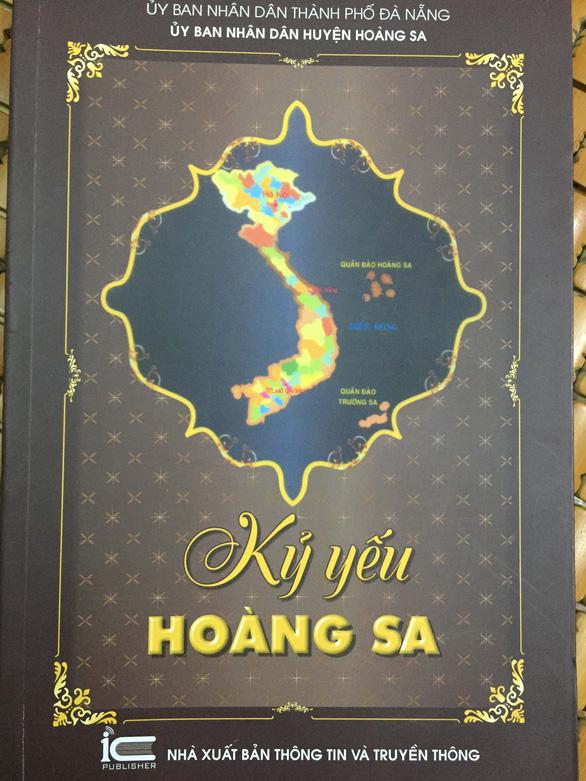 Tư liệu Hoàng Sa - Hành trình trái tim - Kỳ 7: Phía sau cuốn kỷ yếu thiêng liêng - Ảnh 2.