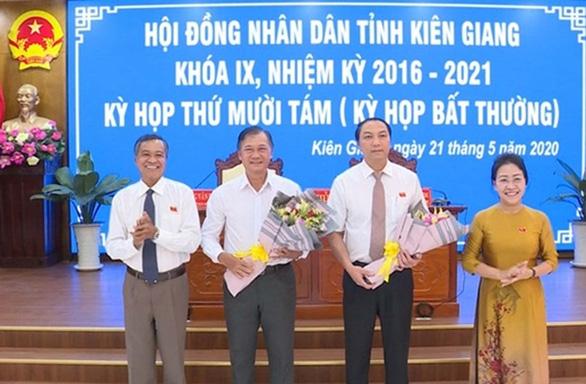 Ông Lâm Minh Thành được bầu bổ sung phó chủ tịch UBND tỉnh Kiên Giang - Ảnh 1.