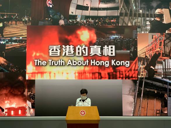 Hong Kong sôi sục kêu gọi biểu tình chống luật an ninh của Bắc Kinh - Ảnh 1.