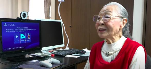 Game thủ già nhất thế giới là một cụ bà 90 tuổi - Ảnh 1.