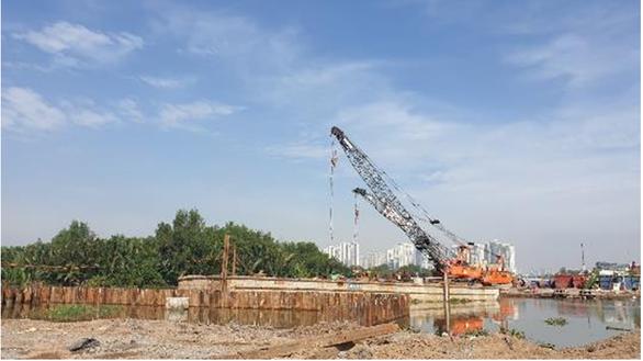 Keppel đã khởi công xây dựng dự án 500 triệu USD - Saigon Sports City - Ảnh 1.