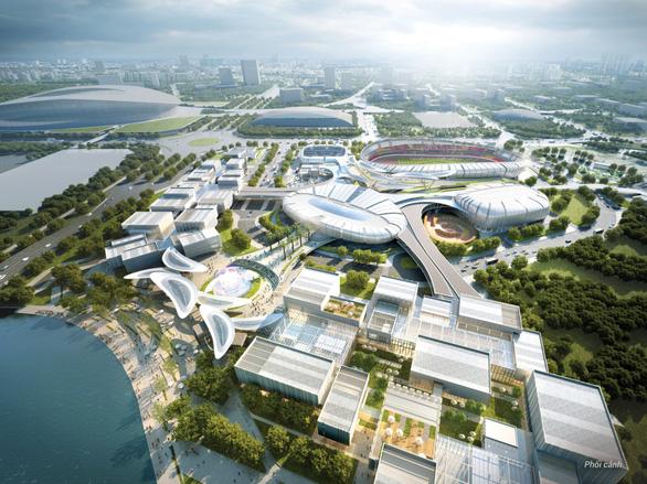 Keppel đã khởi công xây dựng dự án 500 triệu USD - Saigon Sports City - Ảnh 2.