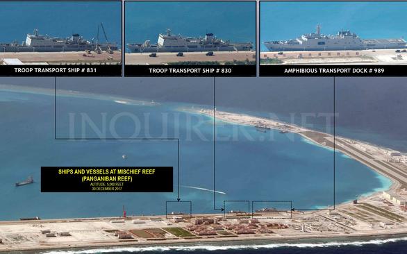 Việt Nam lên tiếng về việc Trung Quốc đưa người ra ở ồ ạt trên Biển Đông - Ảnh 1.