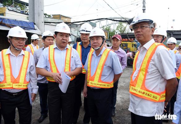 Chủ đầu tư dự án chống ngập 10.000 tỉ hứa vận hành vào tháng 10 - Ảnh 1.