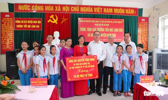 Khánh thành nhà trưng bày bổ sung và nhà bái đường quê hương Chủ tịch Hồ Chí Minh - Ảnh 4.