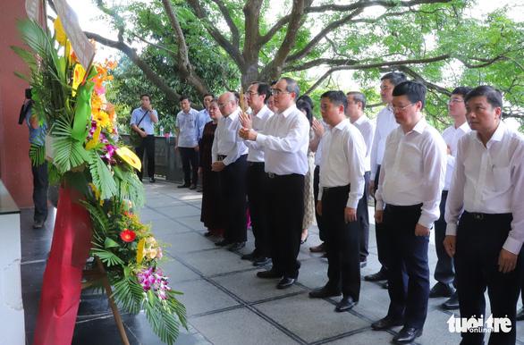 Khánh thành nhà trưng bày bổ sung và nhà bái đường quê hương Chủ tịch Hồ Chí Minh - Ảnh 1.