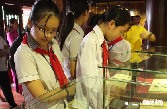 Khánh thành nhà trưng bày bổ sung và nhà bái đường quê hương Chủ tịch Hồ Chí Minh - Ảnh 3.