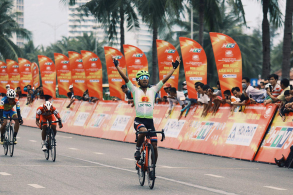 Nguyễn Hoàng Giang thắng chặng đua nhọc nhằn - Ảnh 2.