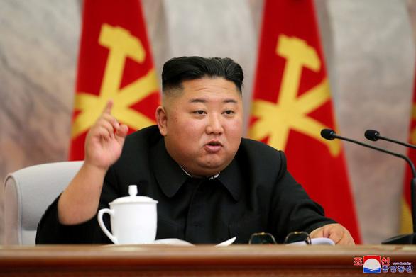 Ông Kim Jong Un chủ trì họp nâng cao năng lực hạt nhân của Triều Tiên - Ảnh 1.