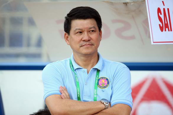 Sau trận thua, lãnh đạo CLB Sài Gòn chê cách tổ chức của VPF - Ảnh 1.