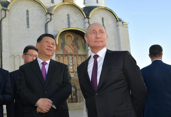Trung Quốc nói Nga - Trung ủng hộ nhau chống lại sự vu khống của một số quốc gia - Ảnh 1.
