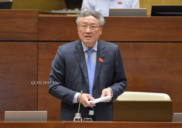 Chánh án Nguyễn Hòa Bình: Cấm ghi âm, ghi hình buổi hòa giải để giữ bí mật - Ảnh 1.