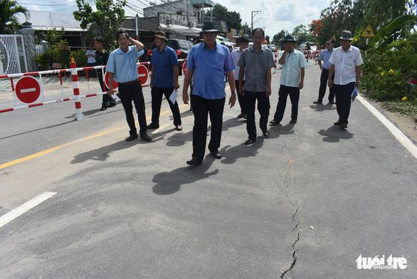 Đề nghị Thủ tướng cho nạo vét 3km bờ sông Hậu để cứu Quốc lộ 91 cũ - Ảnh 2.