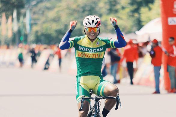 Trần Tuấn Kiệt chiến thắng vòng đua TP Tam Kỳ - Ảnh 1.