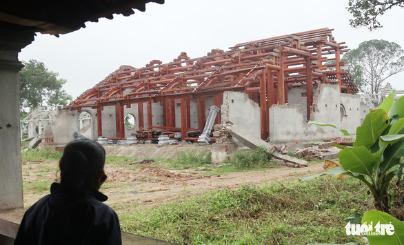 Phạt 110 triệu đồng, buộc tháo dỡ chùa xây 'chui' cả triệu đô - Ảnh 1.