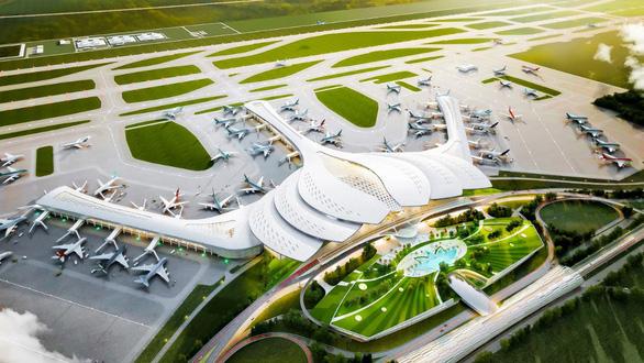 Từ sân bay Long Thành nhìn lại quy mô các sân bay quốc tế khác - Ảnh 1.