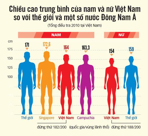 Người Việt đã cao hơn? - Ảnh 4.