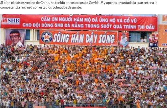 Báo chí thế giới: nằm sát ổ dịch nhưng bóng đá Việt Nam đã... thành công trở lại - Ảnh 1.