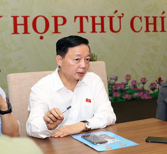 Bộ trưởng Trần Hồng Hà: Không có người nước ngoài nào sở hữu đất, ai cấp báo tôi xử lý ngay - Ảnh 1.