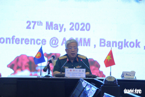 Quân y các nước ASEAN diễn tập phòng chống dịch COVID-19 - Ảnh 1.