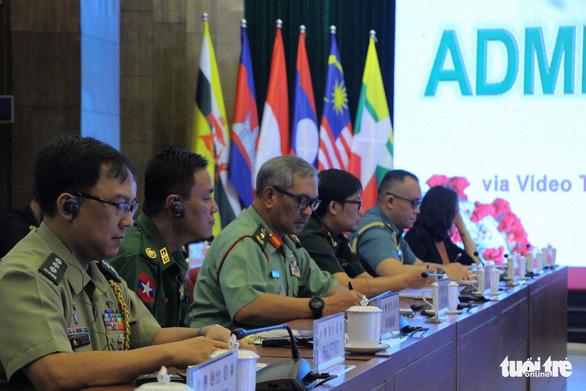 Quân y các nước ASEAN diễn tập phòng chống dịch COVID-19 - Ảnh 2.