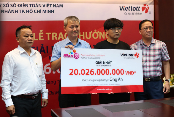 Trúng Vietlott 20 tỷ đồng, chàng trai dùng tiền khởi nghiệp - Ảnh 1.