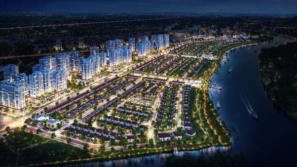 Phát triển đô thị vệ tinh: Điểm sáng Waterpoint - Ảnh 1.