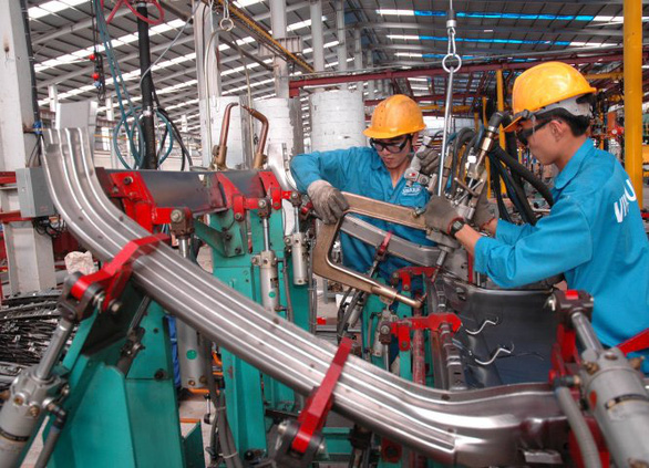 Ưu đãi thuế nhập khẩu 0% cho nguyên liệu, vật tư, linh kiện sản xuất ôtô - Ảnh 1.