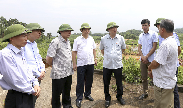 Vỡ đập thủy lợi ở Phú Thọ, di dời khẩn cấp 16 hộ dân - Ảnh 4.