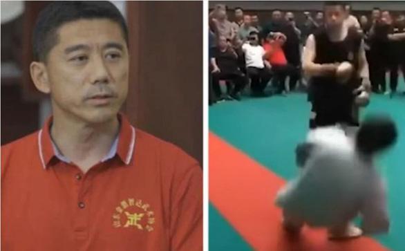 Võ sĩ nghiệp dư Wang Qingmin: Hổng ngờ cao thủ thái cực quyền... yếu dữ thần - Ảnh 1.