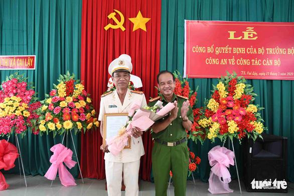Bộ Công an điều động, bổ nhiệm 8 chỉ huy thuộc Công an Tiền Giang - Ảnh 4.