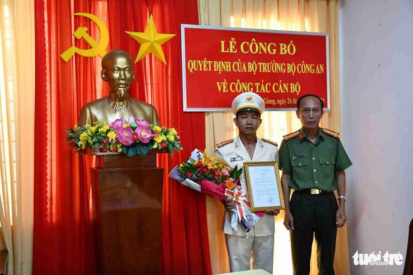 Bộ Công an điều động, bổ nhiệm 8 chỉ huy thuộc Công an Tiền Giang - Ảnh 3.