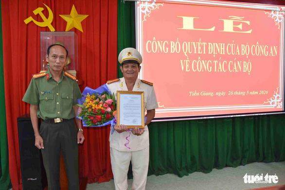Bộ Công an điều động, bổ nhiệm 8 chỉ huy thuộc Công an Tiền Giang - Ảnh 5.
