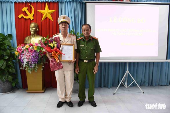 Bộ Công an điều động, bổ nhiệm 8 chỉ huy thuộc Công an Tiền Giang - Ảnh 1.