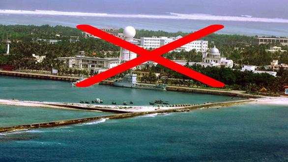 Mỹ điều tàu USS Mustin ra Biển Đông, Trung Quốc tuyên bố đã cảnh báo, xua đuổi - Ảnh 1.