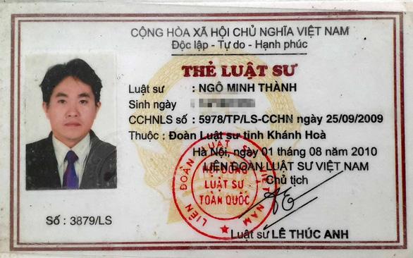 Đoàn luật sư TP.HCM xóa tên luật sư của… đoàn Khánh Hòa - Ảnh 2.
