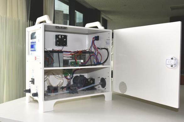 Các kỹ sư Pháp làm máy thở chưa tới 1/10 giá thị trường - Ảnh 4.