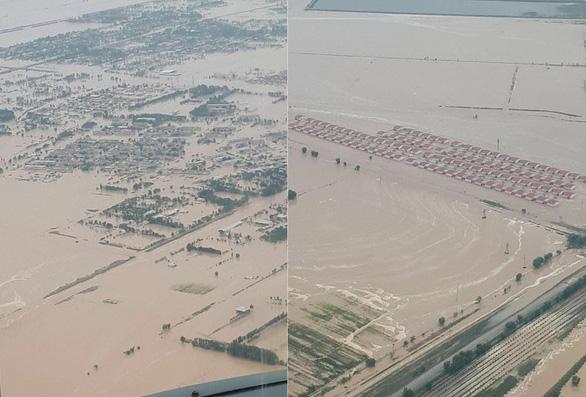 Đập hồ chứa xây 3 năm đã vỡ, dân nước láng giềng cũng phải sơ tán - Ảnh 1.
