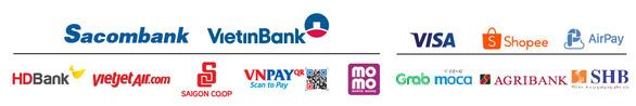 Ưu đãi hấp dẫn khi thanh toán không tiền mặt với Sacombank - Ảnh 4.