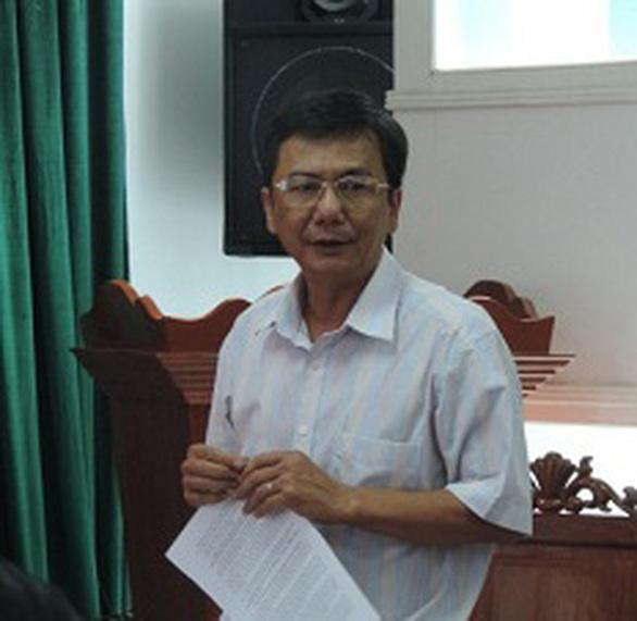 Vi phạm quản lý đất đai, nguyên phó chủ tịch huyện ở Phú Yên bị khởi tố - Ảnh 1.