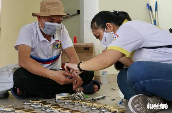 Ký túc xá ĐHQG TP.HCM dọn dẹp 6.000 phòng đón sinh viên trở lại - Ảnh 6.