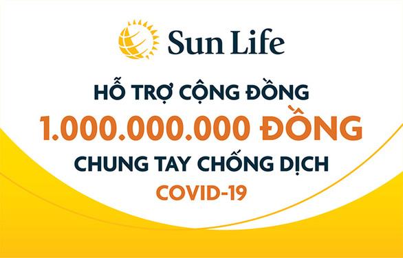 Sun Life Việt Nam đóng góp 1 tỉ đồng phòng chống COVID-19 - Ảnh 3.