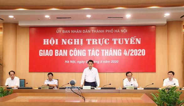 Chủ tịch Hà Nội: Thắt chặt chi tiêu, quản lý mua sắm thiết bị y tế hiệu quả - Ảnh 1.