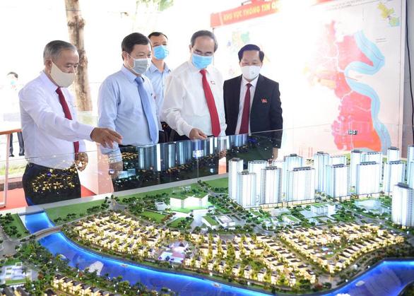 Đặt mục tiêu duyệt quy hoạch lên quận cho huyện Nhà Bè trước năm 2025 - Ảnh 2.