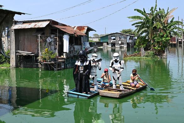 Các nhân vật Star Wars bỗng xuất hiện giúp Philippines chống virus corona - Ảnh 3.