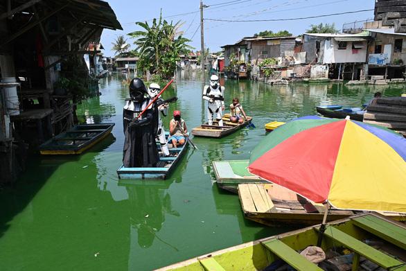 Các nhân vật Star Wars bỗng xuất hiện giúp Philippines chống virus corona - Ảnh 5.