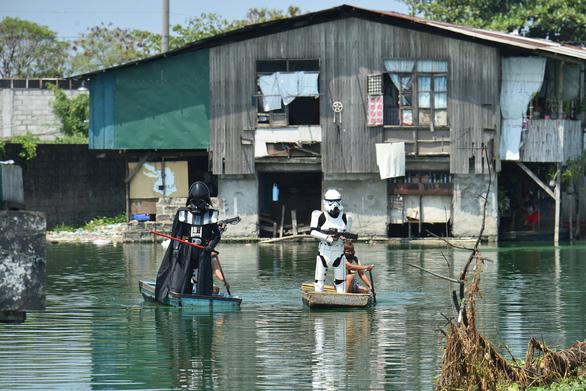 Các nhân vật Star Wars bỗng xuất hiện giúp Philippines chống virus corona - Ảnh 4.
