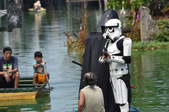 Các nhân vật Star Wars bỗng xuất hiện giúp Philippines chống virus corona - Ảnh 2.